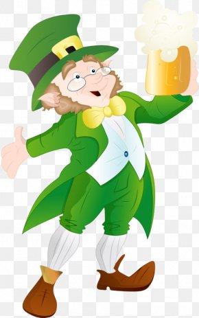 Saint Patrick's Day - Saint Patrick's Day 17 March Leprechaun Clip Art PNG