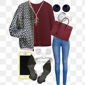 Women With Casual Fashion Trend - Leggings Jeans Fashion Tights Sleeve PNG