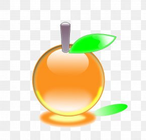 Yellow Crystal Apple - Apple Download Icon PNG