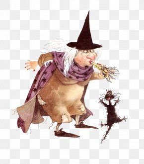 Halloween - Halloween Witch Candy Corn Clip Art PNG