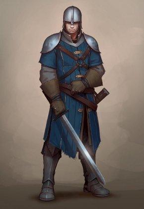 Medival Knight - Middle Ages Dungeons & Dragons Pathfinder Roleplaying Game Swordsmanship Medieval Fantasy PNG