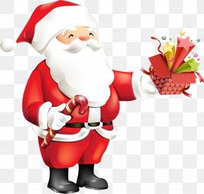 Santa Claus - Santa Claus's Reindeer Christmas Gift Santa Claus's Reindeer PNG