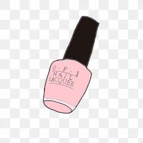 Swing Illustration - Nail Polish Finger Product Design PNG