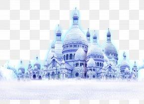 Snow Castle - Snow Computer File PNG