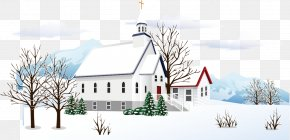 Snow Village - Snow Winter PNG