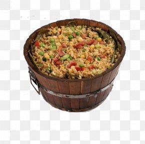 Free Rice Barrel Pull Element - Barrel Oak Stir-fried Tomato And Scrambled Eggs Publicity PNG