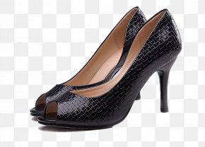 Toe Heels - High-heeled Footwear Dress Shoe Leather PNG
