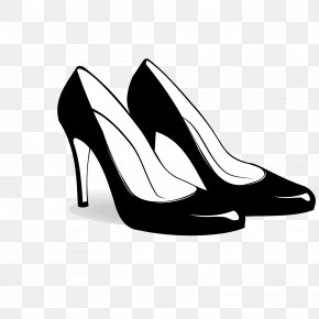 Vector Shoes File - Shoe High-heeled Footwear Boot Clip Art PNG
