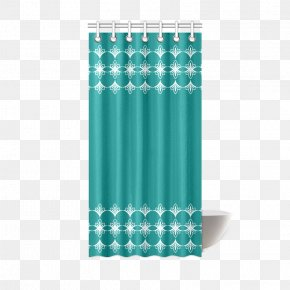 White Curtains - Teal Turquoise Tablecloth Red PNG