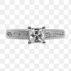 Ring - Engagement Ring Jewellery Solitaire Diamond PNG