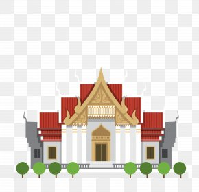 Thailand Tourist Attractions Building - Thailand Royalty-free Stock Photography Illustration PNG