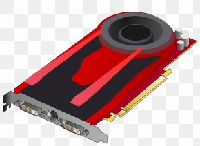 Card - Graphics Cards & Video Adapters Computer Clip Art PNG