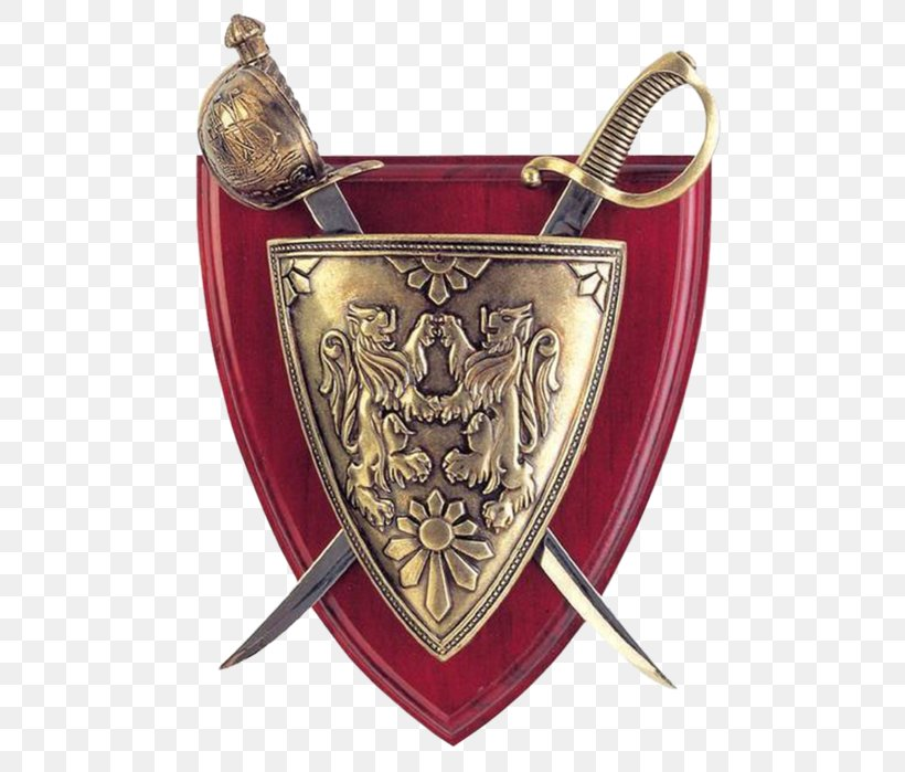 Shield Sword Weapon Knight, PNG, 527x699px, Shield, Brass, Computer Software, Knight, Lossless Compression Download Free