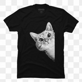 Cat Lover T Shirt - T-shirt Hoodie Clothing Sleeve Top PNG