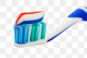 Rainbow Stripe Toothpaste Picture Material - Toothbrush Toothpaste Pump Dispenser PNG