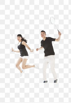 Badminton Lovers - Badminton Net Racket PNG