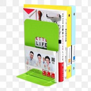 Desktop Book Shelves - Bookend Bookcase Shelf Stationery PNG