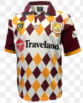 T-shirt - Brisbane Broncos National Rugby League T-shirt Wests Tigers Balmain Tigers PNG
