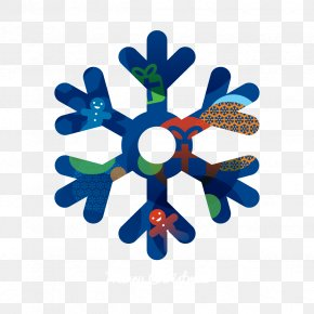 Blue Snowflake - Snowflake Icon PNG
