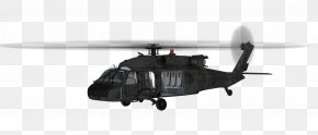 Helicopter - Helicopter Sikorsky UH-60 Black Hawk Fixed-wing Aircraft Clip Art PNG