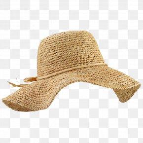 Raffia Hat File - Straw Hat Cap Cowboy Hat Sun Hat PNG
