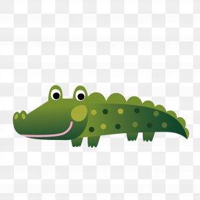 Water Crocodile PNG