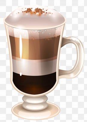 Coffee Drink Clipart Image - Latte Macchiato Irish Coffee Cappuccino PNG