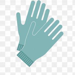 Vector Green Men's Gloves Hands - Gardening Glove PNG
