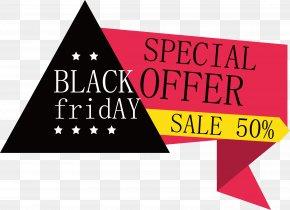 Folding Black Friday Label Design - Black Friday PNG
