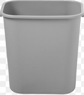 Trash Can - Waste Container Plastic Icon PNG