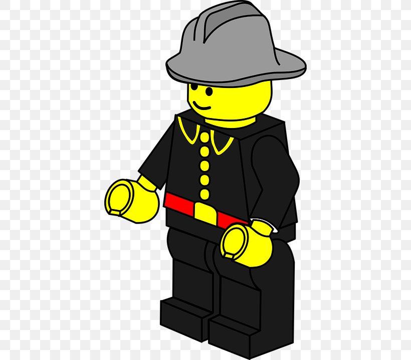 3 Lego CITY mini figure ouvrier du bâtiment BLEU STD MINIFIG