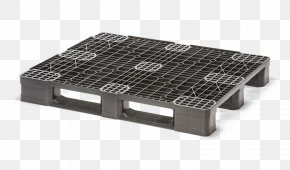 Pallet Size - Pallet Plastic Palette En Plastique Box Palet Polypropylene PNG