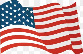 Flying National Flag - Flag Of The United States Tattoo National Flag PNG