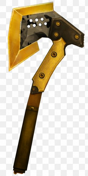 Weapon - Weapon Black Market Axe Gold Splitting Maul PNG