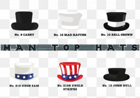 Men's Hat Formal Hat - Top Hat Bowler Hat Gentleman PNG
