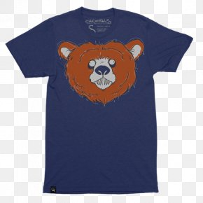 Chicago Bears - T-shirt Raglan Sleeve Clothing Sweater PNG