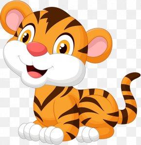 Cartoon Tiger - Tiger Cartoon Royalty-free Clip Art PNG