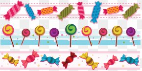Candy - Ice Cream Lollipop Chocolate Bar Candy Clip Art PNG