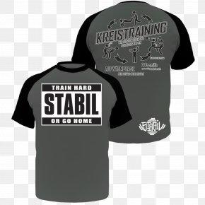 Bodybuilding Clothing 4xl - T-shirt Black Industrial Design Logo Sleeve PNG