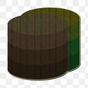 Rectangle Cylinder - Database Icon Essential Icon PNG