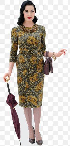 Dita Von Teese - Dita Von Teese Fashion Celebrity Standee Model PNG
