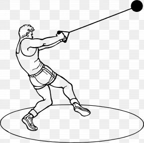 Hammer Throw Sport Track & Field Clip Art PNG