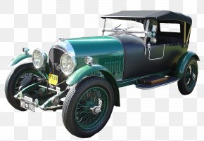 Vintage Car - Classic Car Vintage Car Ford Motor Company Driving PNG
