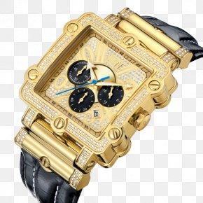 Memorial Day Flash Sale - Watch Diamond Chronograph Bracelet Clock PNG