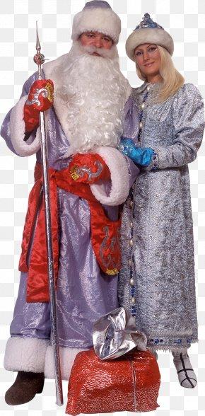 Santa - Santa Claus Snegurochka Ded Moroz New Year Tree Ziuzia PNG