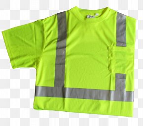 T-shirt - T-shirt High-visibility Clothing Sleeve Outerwear PNG