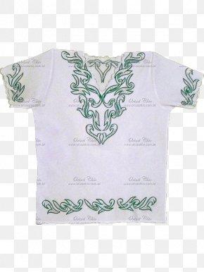 T-shirt - T-shirt White Shoulder Sleeve Batá Drum PNG