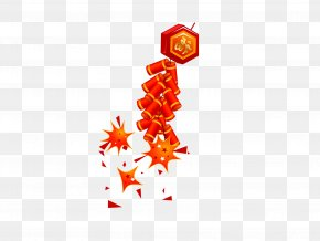 Chinese New Year With Firecrackers - Firecracker Chinese New Year PNG