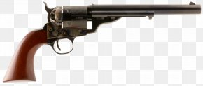Weapon - Revolver Firearm Colt Army Model 1860 Weapon Pistol PNG
