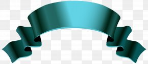 Turquoise Banner Cliparts - Paper Banner Ribbon Clip Art PNG